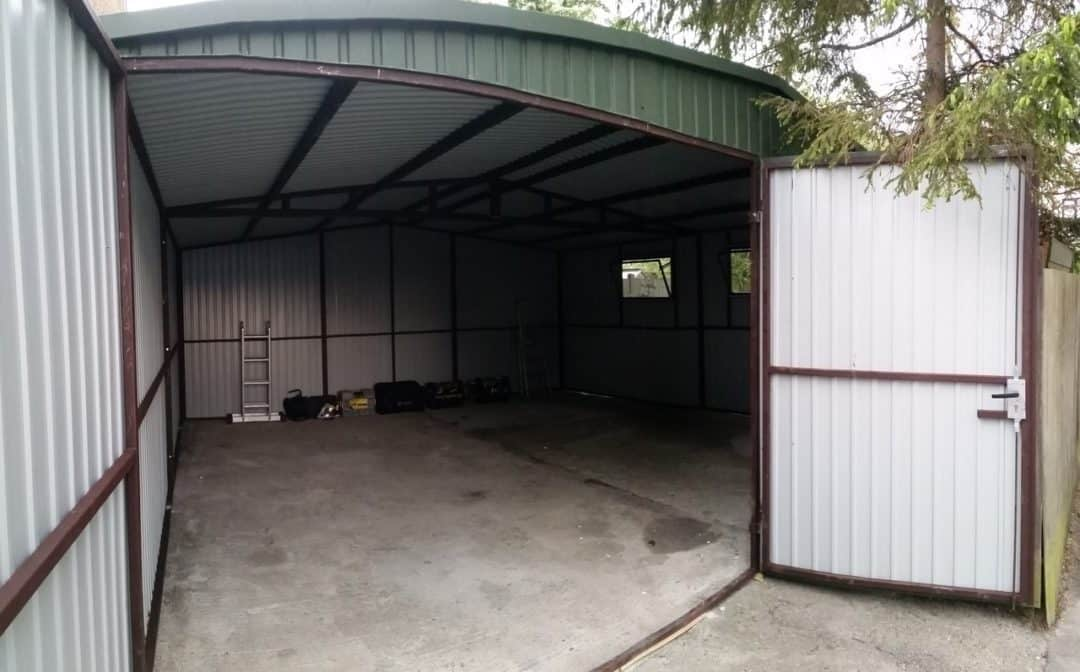 18x18ft Heavy Duty Metal Shed Secure Garages Co Uk